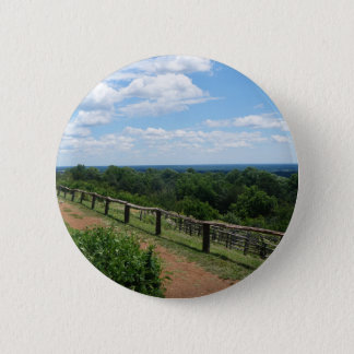 A View From Monticello 2 Inch Round Button