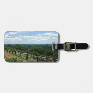 A View From Monticello Bag Tag