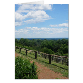 A View From Monticello Card