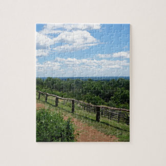 A View From Monticello Jigsaw Puzzle