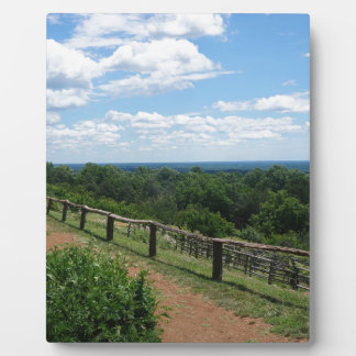 A View From Monticello Plaque