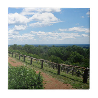 A View From Monticello Tile