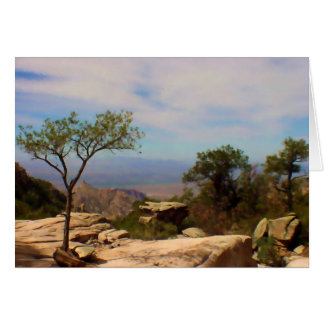 A View from the Palisades Past Card