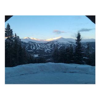 A View in Breckenridge Postcard