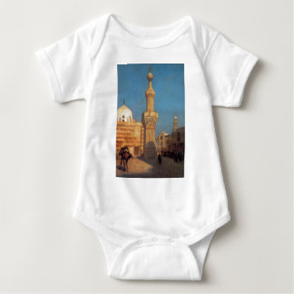 A View of Cairo by Jean-Leon Gerome Baby Bodysuit