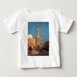A View of Cairo by Jean-Leon Gerome Baby T-Shirt