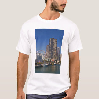 A view of Chicago's Navy Pier T-Shirt