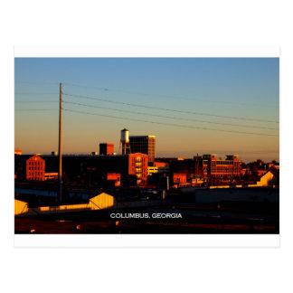 A view of Columbus, GA taken from Phenix City, AL Postcard