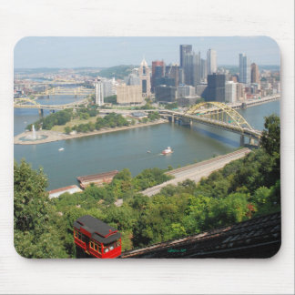 A view of Downtown Pittsburgh from Mt. Washington Mouse Pad