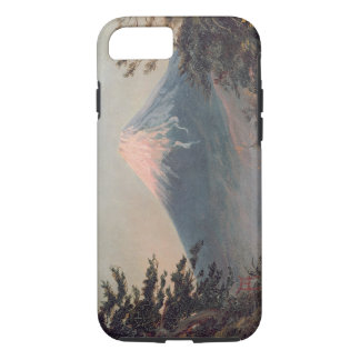 A View of Mount Fusiyama with Figures in the Foreg iPhone 7 Case