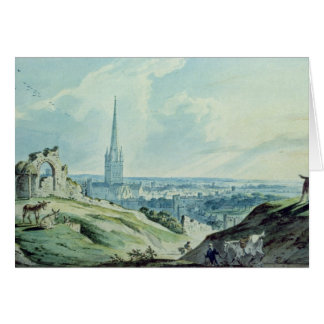 A View of Norwich, from Mouseshold Hill Card