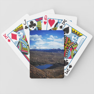 A View of Pike's Peak Bicycle Playing Cards