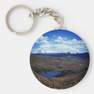 A View of Pike's Peak Keychain