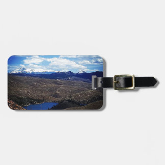 A View of Pike's Peak Luggage Tag