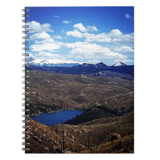 A View of Pike's Peak Notebook