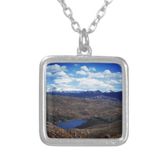 A View of Pike's Peak Silver Plated Necklace