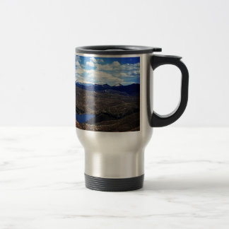 A View of Pike's Peak Travel Mug