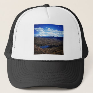 A View of Pike's Peak Trucker Hat