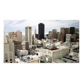 A view of San Francisco's skyline Business Card