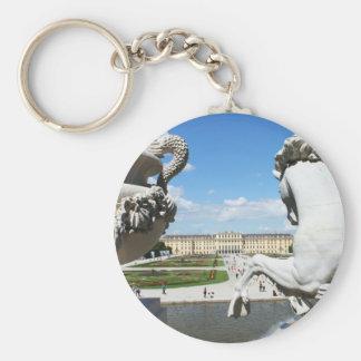 A view of Schonbrunn Palace in Vienna, Austria. Keychain