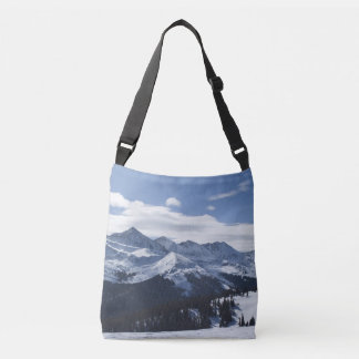 A View of the Alps Crossbody Bag