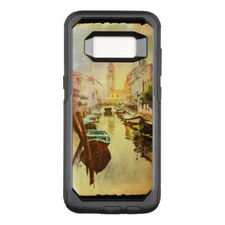 A View Of The Canal With Boats And Buildings OtterBox Commuter Samsung Galaxy S8 Case