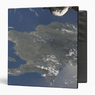 A view of the Caribbean island of Hispaniola Vinyl Binder