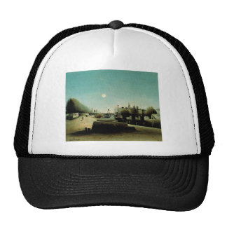 A View of the Ile Saint Louis from Port Saint Nico Trucker Hat