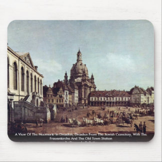 A View Of The Neumarkt In Dresden Mouse Pad