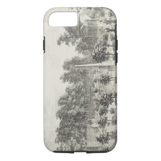 A View of the Orangery, Lord Burlington's Garden a iPhone 7 Case