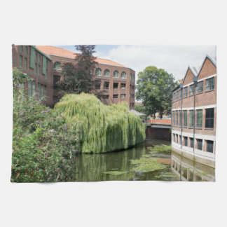 A view of the River Foss in York Hand Towel