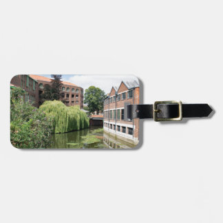 A view of the River Foss in York Luggage Tag
