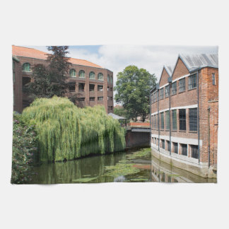A view of the River Foss in York Towels
