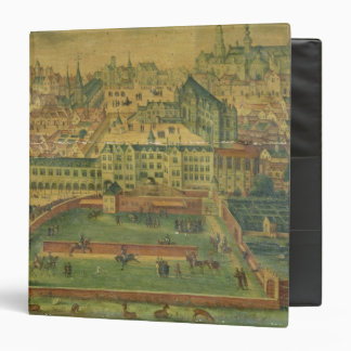 A View of the Royal Palace, Brussels Vinyl Binders