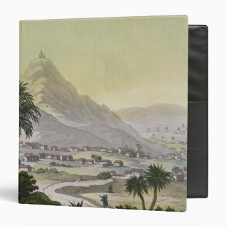A view of the township of Lima, Peru, from 'Le Cos Vinyl Binder