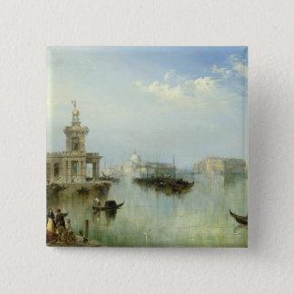A View of Venice 2 Inch Square Button