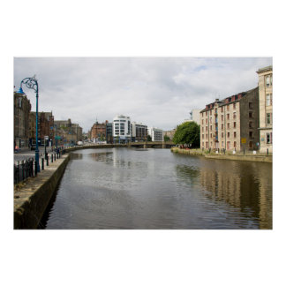 A View of Water of Leith Poster