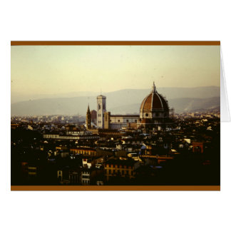 A View Over Florence Card