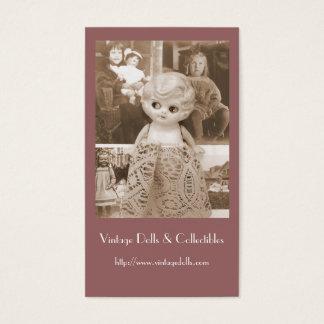 A Vintage Doll Affair Business Card