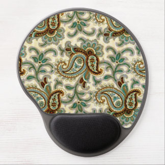 A Vintage Paisley Pattern 3 Gel Mouse Pad