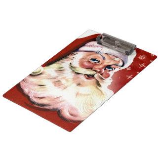 A Vintage Santa Clipboard