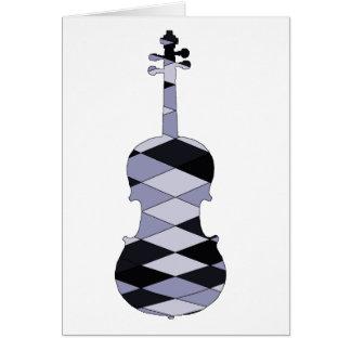 A Violin Card