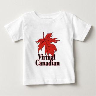A Virtual Canadian Baby T-Shirt