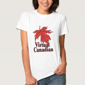 A Virtual Canadian T-shirt