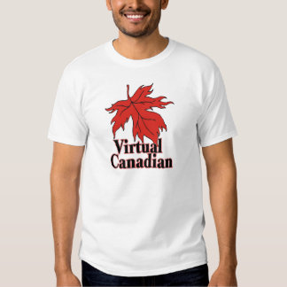 A Virtual Canadian Tee Shirts