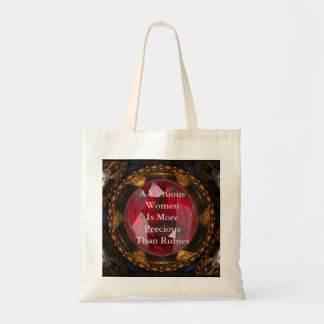 A Virtuous Women  Is More Precious ... Tote Bag