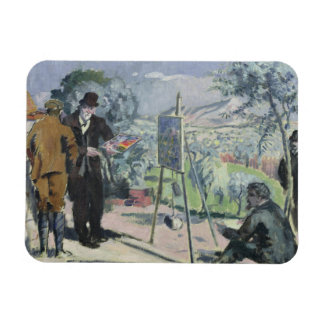 A Visit to the House of Cezanne Magnet