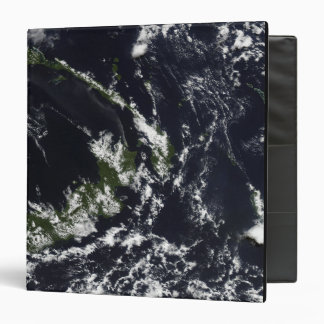A volcanic plume from the Rabaul caldera Vinyl Binder