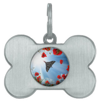 A Vulcan Poppy Pet Name Tags