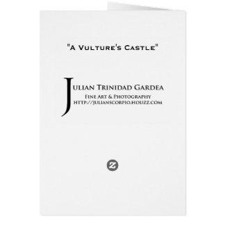"""""""A Vulture's Castle"""" Card"""